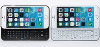 Wholesale For Apple iPhone G s inch Wireless Bluetooth Keyboard Case With Back light Hard Pc Cover Mini Sliding Keyboard