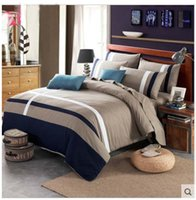 Cheap 2016 Hot Sale Solid color 100% Cotton Home Plain Printed Comforters Cheap Soft Bedding Sets Bedspread 4pcs Twin Queen King Size