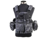 Wholesale Airsoft Military Army Combat Tactical Wargame D US Molle Vest High Quality Nylon Hunting Shooting Vest For Mens
