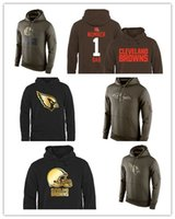 arizona raven - New Arizona Cardinals football hoodies Ravens sweatshirts fashion men Browns hoodies Cleveland size M XL