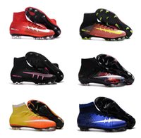 best kid boots - 2016 Best Quality Mercurial Superfly FG IC TF Kids Soccer Boots Shoes Cleats Cheap Outdoor Superfly V Football Shoes Boots Cleats