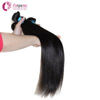 Wholesale Top quality Unprocessed peruvian virgin straight human hair weave B Free Tangle human remy weft hair extension mix length quot quot