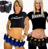belt can holder - 3 color LJJK356 Party Beer Soda Can Belt Pack Holster Holster Drink Bag Party Holder Belt outdoor beer belt drinks bag purse