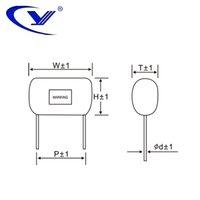 Wholesale Hot sale factory custom CBB21 polypropylene capacitor VDC