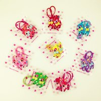 Wholesale Acrylic creative cute cartoon deer baby hair rope rubber band children headdress hair accessories