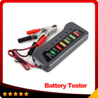 alternator auto - 12V Auto Car Digital Battery Alternator Tester LED Lights Display Diagnostic Tool for Cars Motorcycle Batteries