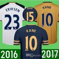 bamboo shorts - Tottenham Thai Soccer Jersey Mason Kane Lamela Alli Lloris RD third Away Gold Yellow Jerseys