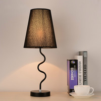 Wholesale American country modern minimalist bedroom warm decorative lamp bedside lamp high quanlity Table Lamps commercial lighting