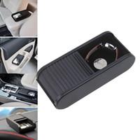 Wholesale Fashion Car Phone Coin Plastic Case Storage Box Pocket Telescopic Dash Coins Holder Container Carro Automobile