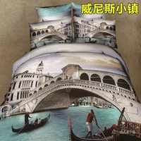 beautiful small machines - 100 cotton home textile twill cartoon anime Bedding set Bedclothes Duvet cover Comforter sheet beautiful small town S236