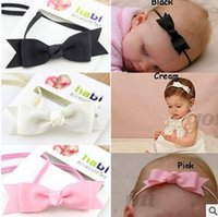 baby fish pictures - 2016 Free Postage New European hairband solid color fish baby bow headband baby pictures jewelry hd028