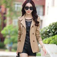 Wholesale Jackets Women spring new casual jacket women windbreaker jacket women s fashion slim coat woman