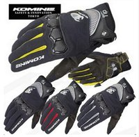 Wholesale 2016 summer new KOMINE GK162 D mesh TECHNOLOGY riding glove motorcycle motorbike Moto racing gloves have colors size M L XL
