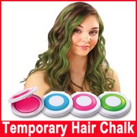 Wholesale Hair Color Purple Red Hair Dye Temporary Hair Chalk Styling Tools Makeup Beauty Crayons for Women