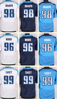 al wood - 2016 New Men s Brian Orakpo Al Woods Jurrell Casey white Blue Light Blue Top Quality jerseys Drop Shipping