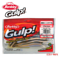 berkley - Berkley Brand Gulp Series Crawler GCR4 cm Protein Worm Bait Soft Fishing Lure Artificial three colors bag