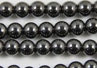 Wholesale factory price mm Good Black Hematite Loose ball Beads Shamballa Findings Fit DIY Bracelet Bead for bracelet hotsale DIY Findings Jewelry