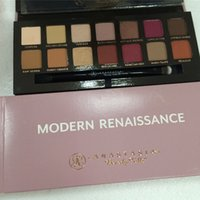 artists palettes - 2016 Anastasia Modern Renaissance eye shadow Palette colors Artist Eyeshadow Makeup Cosmetics Palette With Brush