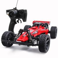 big car crashes - Children s remote control car charging off road car big tire remote control car boy toy car model anti crash