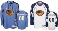 atlanta thrashers - 2017 Atlanta Thrashers Personalized Customize Mens Women Youth Stitched Premier With any Name any Number Ice Hockey jersey