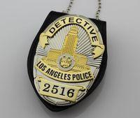 Wholesale The Losangeles police inspector badges LAPD No DETECTIVE multi function clip
