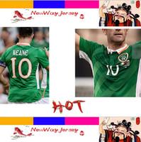 Wholesale 31 AUGUST AVIVA STADIUM KEANE top thai version jersey Ireland jersey