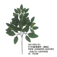 Wholesale Artificial New jasmine leave