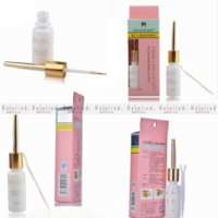 Wholesale Rosalind New FreeShipping Eyelash Glue white Clear Adhesive False Eyelash Glue For Professional Beauty mc Makeup