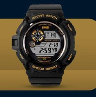 automatic alarm watches - New G Style Digital Watches S Shock Men military army Watch water resistant Date Calendar LED Sports Watch relogio masculino