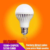 Wholesale LED light bulb15W high brightness high efficiency power saving is a new type of lighting products