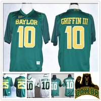 bears throwbacks - Stitched NCAA Baylor Bears College Robert Giffin III Lache Seastrunk Jersey Sport HOT Sale Cheap Retro Throwback With logo