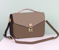 authentic designer purses - authentic quality POCHETTE METIS M40780 cross body women s satchel leather handbag shoulder flap bag purse France luxury brand designer