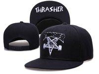Wholesale Thrasher adjustable snapback hats Classic men women Ball Caps sports caps adult s Climing summer colors