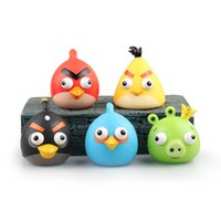 Wholesale 2016 Hot Leonard Q Animation Project Model Wink Pig Edition Angry Birds Eye Convex Vent Vinyl Doll