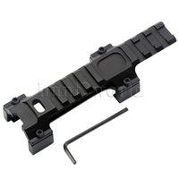 aim accessories - Tactical Aim Top mm Picatinny Weaver Rail Extension Scope Mount Claw G3 MP5 Hunting Accessories