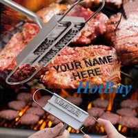 Wholesale Changeable Letters Barbecue ID Branding Iron Tools