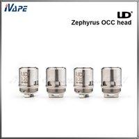 Acheter Zephyrus sous réservoir ohm-100% Original UD Youde Zephyrus têtes de bobine Zephyrus OCC bobine de coton biologique pour Zepphyrus Sub ohm réservoir 0.2ohm 0.3ohm 0.5ohm