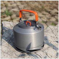 aluminum tea pot - Fire Maple FMC XT2 Portable Aluminum L Heat Collecting Exchanger Kettle Tea Coffee Pot Outdoor Camping Picnic Cookware