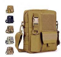Wholesale Men s Messenger Bags Fishing Military Equipment Sport Crossbody Tactical Bag Satchel Bag MOLLE System Single Shoulder