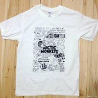 O-Neck arctic monkeys tee - Arctic Monkeys Song Lyrics Rock Music Band Tee T Shirts Unisex Mens Womens AM19