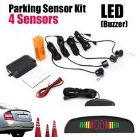 auto reverse sensor - Car LED Parking Sensor Monitor Auto Reverse Backup Radar Detector System LED Display Sensors colors to choose