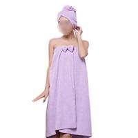 adult sponge bath - GSFY Bath Adult Children Towel Headband Purple