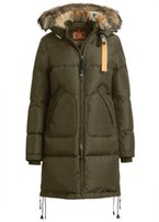 army jacket women fashion - Cheap Masterpiece LONG BEAR Women Jacket Army Green Color Long Bear Sale real fur trim around the hood Removable Fur SizeXS XL