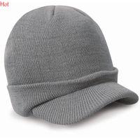 Wholesale Unisex Women Casquette Men Casual Winter Cap Women Outdoor Snapback Peaked Hat Knitted Beanie Visors Cap Gorras Casquette Ski Hat LPQ001368