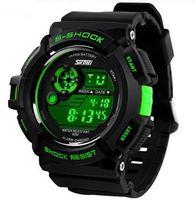 Cheap 2016 New Mens LED Digital Date Alarm Waterproof Rubber Sports Army Watch Wristwatch
