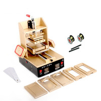 Wholesale 5 n Machine For Samsung Middle Bezel Splite For iPhone Frame Laminator Vacuum LCD Screen Separator Glue Remover Preheater