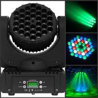 36pcs 3W RGBW CREE llevado móvil de la viga 120W 15CH Luz AC100-240V 50-60HZ Un año de garantía