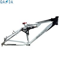 bicycle rear shocks - High Quality inch Downhill Frame DH Mountain Bike Aluminum Frame Including Rear Shocks Cheapest Frame Bicycle Supplier
