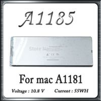 Cheap Original Quality For Macbook A1181 A1185 Rechargeable Battery Replacement White Color