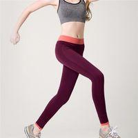 Wholesale In business Women Sport Leggings For Yoga Running Training Body building Fitness Clothing Fashion Gym Elastic Jegging Leggings Free EUB
